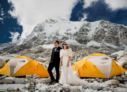 Mt Everest base camp wedding photos 83