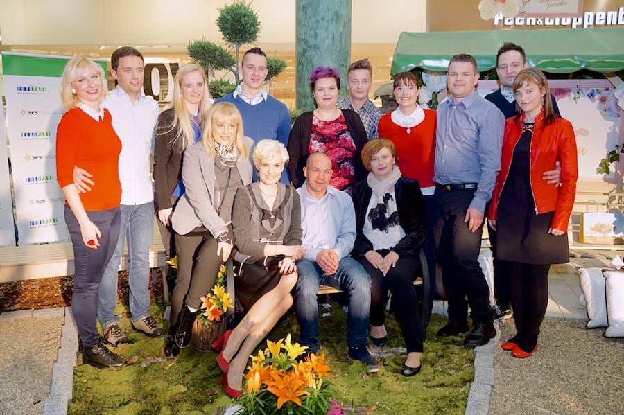 Žirija Europarkove sanjske poroke s petimi finalni