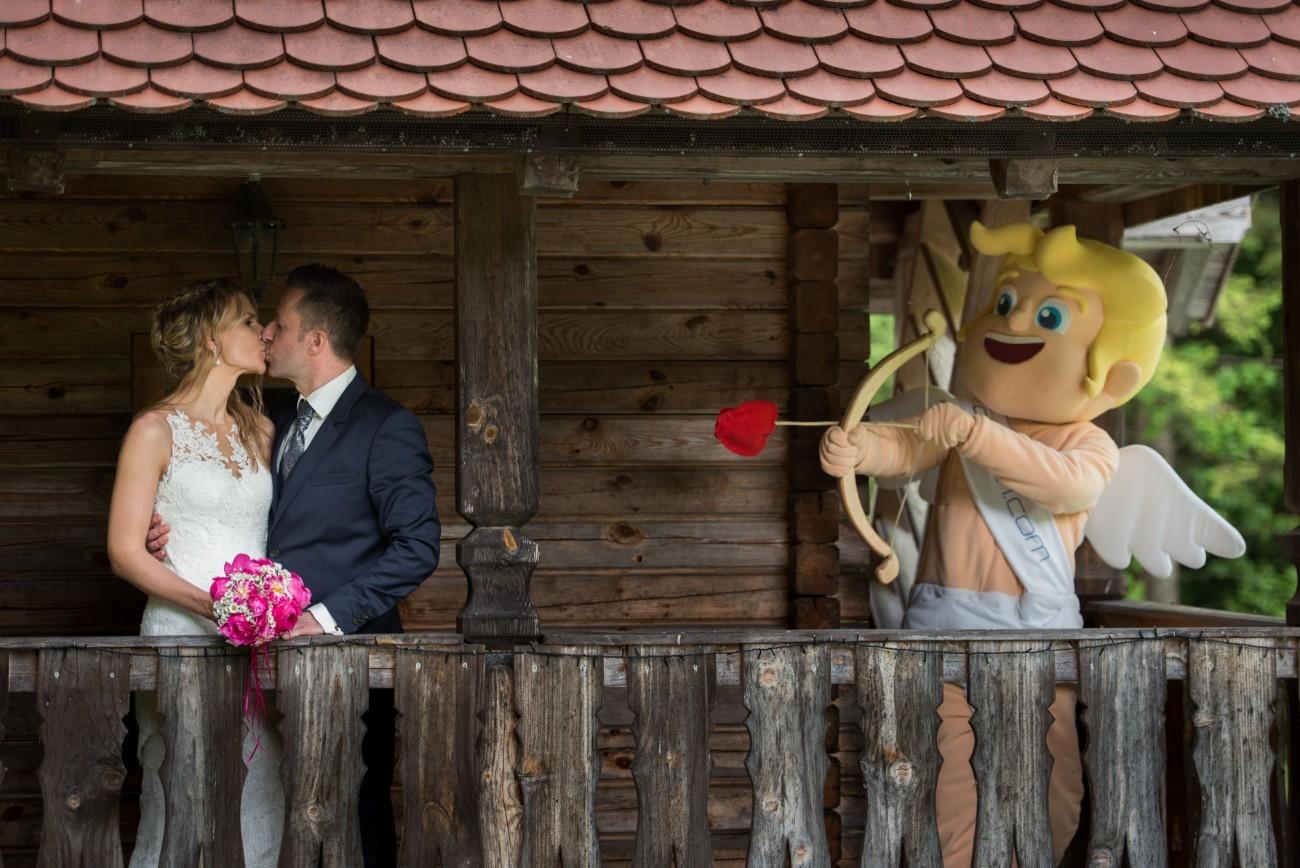 Kupid Ljubo je poskrbel za še eno ljubezensko zgod