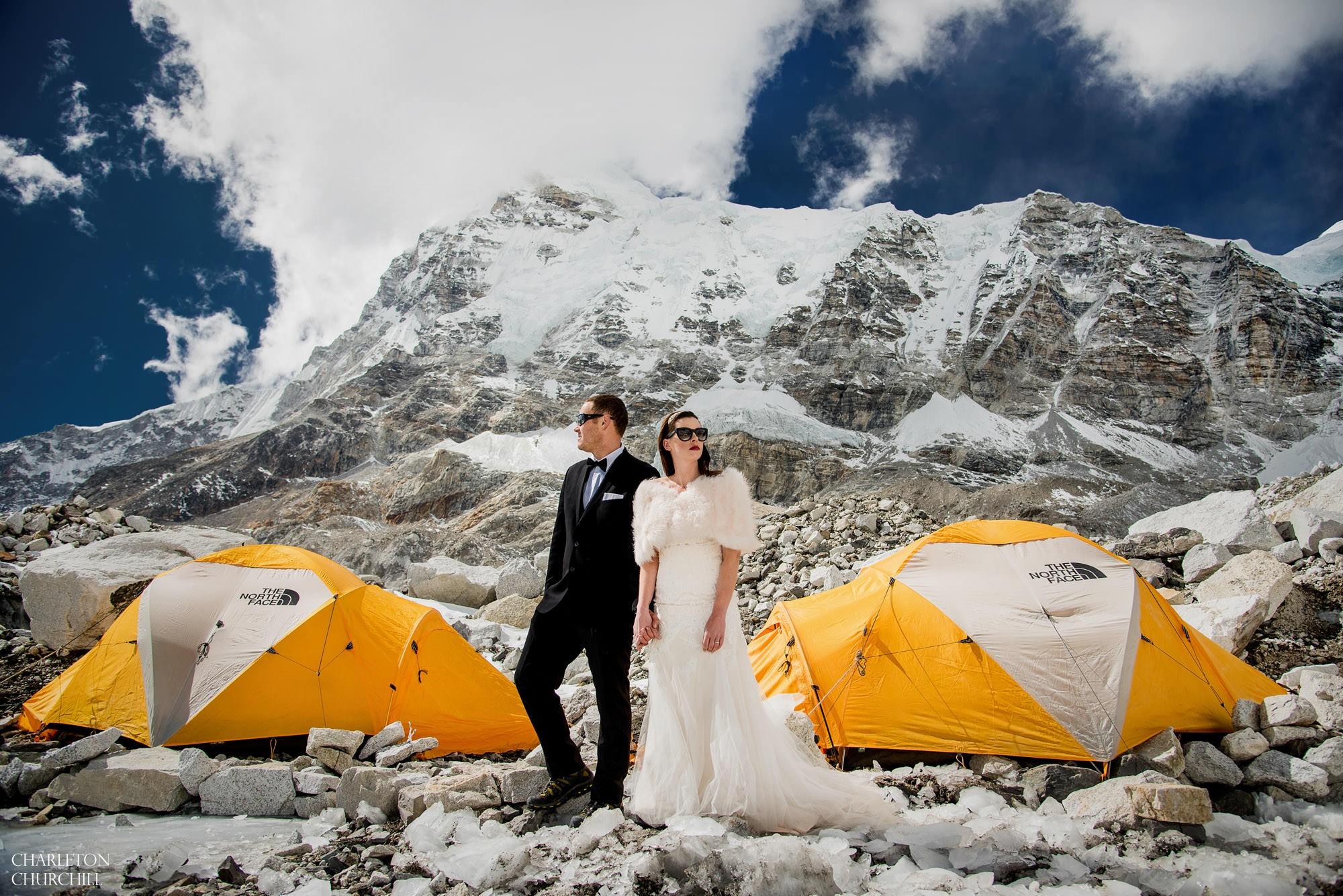 Mt Everest base camp wedding photos 83