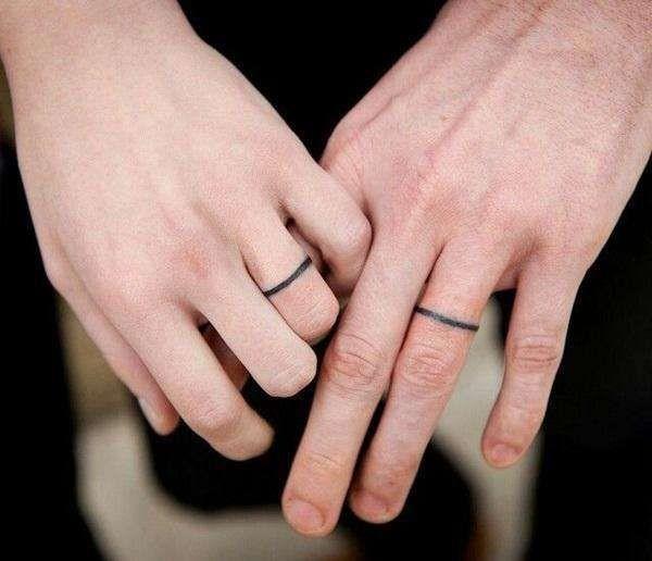 tatu poročni prstani